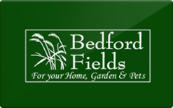 Sell Bedford Fields Home & Garden Center Gift Card