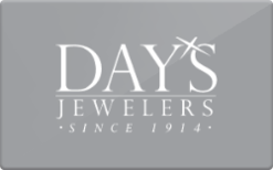 Sell Day's Jewelers Gift Card