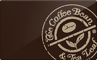 Coffee bean tea leaf gift card