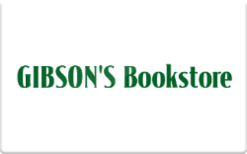 Sell Gibson's Bookstore Gift Card