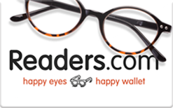 Sell Readers.com Reading Glasses Gift Card