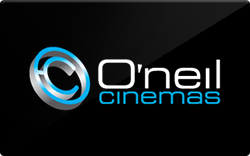 Oneilcinemas gift card