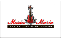 Sell Maria Maria Restaurants Gift Card