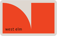 Buy West Elm Gift Card