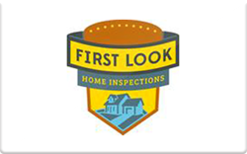 Sell First Look Home Inspections Gift Card
