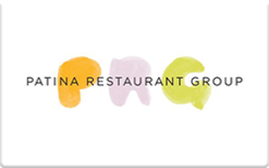 Sell Patina Restaurant Group Gift Card