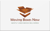 Buy Moving Boxes Now Gift Card