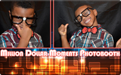 Sell Million Dollar Moments Photobooth Rental Gift Card