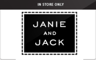 Buy Janie and Jack (In Store Only) Gift Card