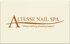 Sell Altesse Nail Spa Gift Card