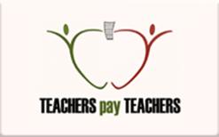 Buy Teachers Pay Teachers Gift Cards   Raise