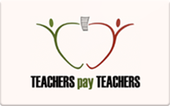 Sell Teachers Pay Teachers Gift Card