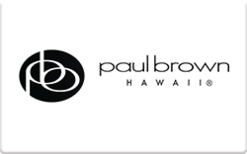 Sell Paul Brown Hawaii Gift Card