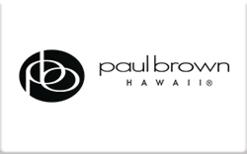 Buy Paul Brown Hawaii Gift Card