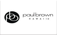 Buy Paul Brown Hawaii Gift Card