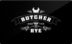Buy Butcher and the Rye Gift Card