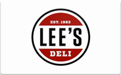 Sell Lee's Deli Gift Card