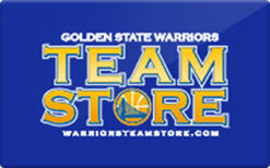 Buy Golden State Warriors Team Store Gift Card