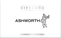 Buy Ashworth Golf Gift Card
