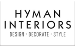 Buy Hyman Interiors Gift Card