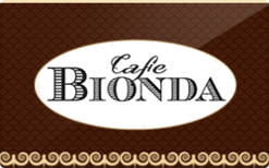 Buy Cafe Bionda Gift Card