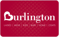 Burlington coat factory gift card