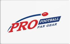 Sell ProFootballFanGear.com Gift Card
