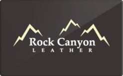 Sell Rock Canyon Leather Gift Card