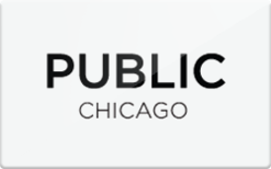 Sell PUBLIC Chicago Gift Card