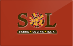 Sell SOL Mexican Cocina Gift Card