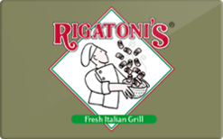 Buy Rigatoni's Gift Card