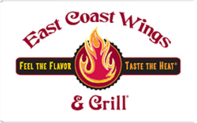 Buy East Coast Wings & Grill Gift Card