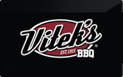 Sell Vitek's BBQ Gift Card