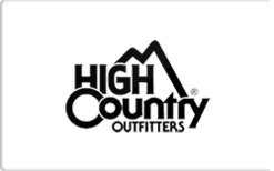 Sell High Country Outfitters Gift Card