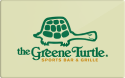 Sell The Greene Turtle Sports Bar & Grille Gift Card