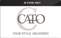 Sell Cato (In Store Only) Gift Card