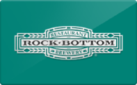 Buy Rock Bottom Brewery & Restaurant Gift Card