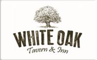 White oak tavern and inn gift card taxon