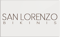 Buy San Lorenzo Bikinis Gift Card