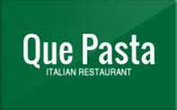 Buy Que Pasta Gift Card
