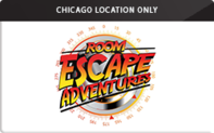 Buy Room Escape Adventures (Chicago) Gift Card