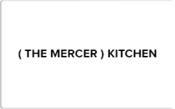 Sell The Mercer Kitchen Gift Card