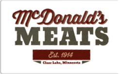 Buy McDonald's Meats Gift Card