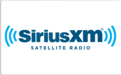 Sell Sirius XM Radio Gift Card