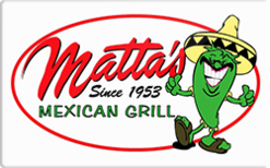 Sell Matta's Restaurants Gift Card