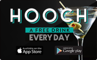Buy Hooch Drinks Gift Card
