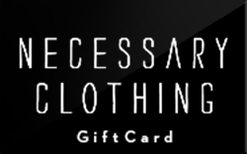 Buy Necessary Clothing Gift Card