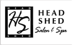 Sell Head Shed Salon and Day Spa Gift Card