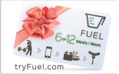 Sell Fuel Meals Delivered Gift Card