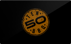 Buy Ten50 BBQ Gift Card